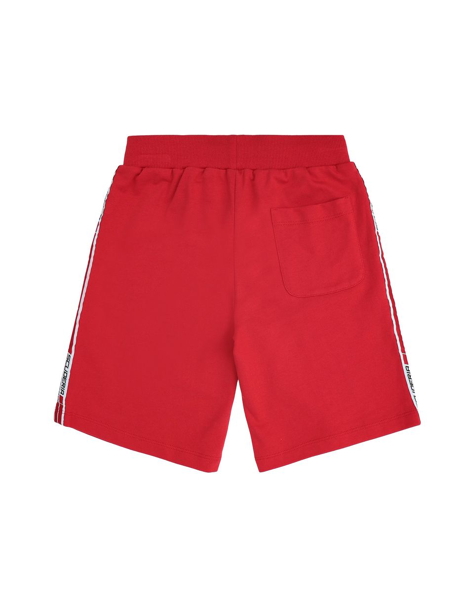 Scuderia Ferrari Online Store - Children's shorts with <i>Icon Tape</i> - Joggers