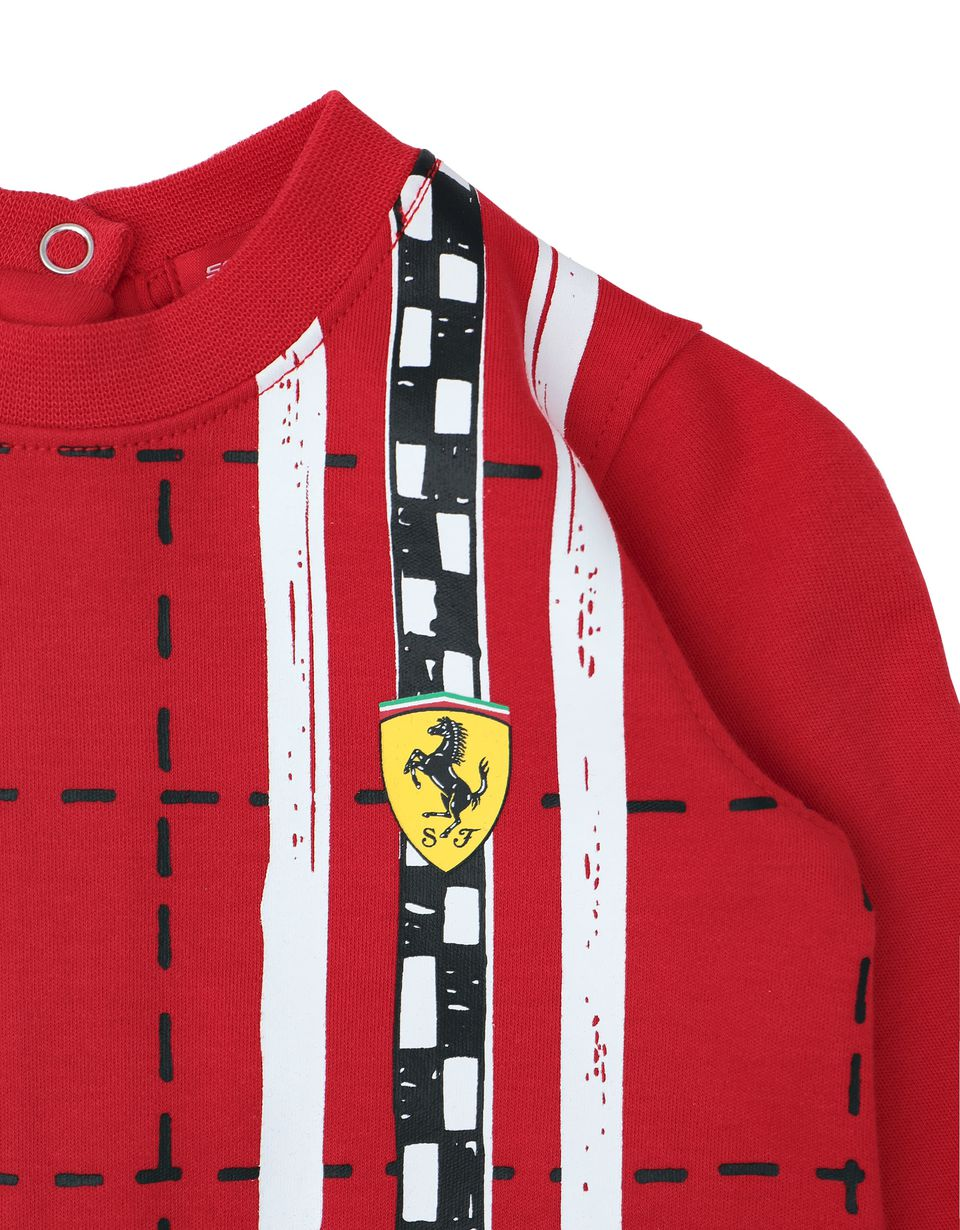 Scuderia Ferrari Online Store - Cotton infant bodysuit -