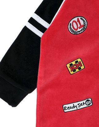 Scuderia Ferrari Online Store - Chenille infant bodysuit - Jumpsuits