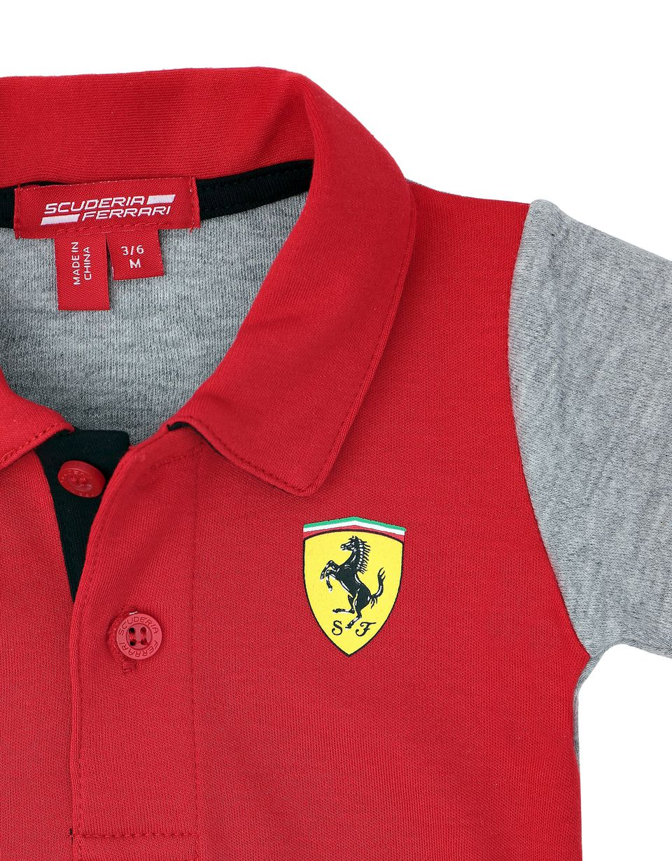 Scuderia Ferrari Online Store - Infant polo neck bodysuit - Jumpsuits