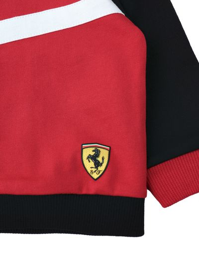 Scuderia Ferrari Online Store - Jumper and trousers infant outfit - Baby & Kids Sets