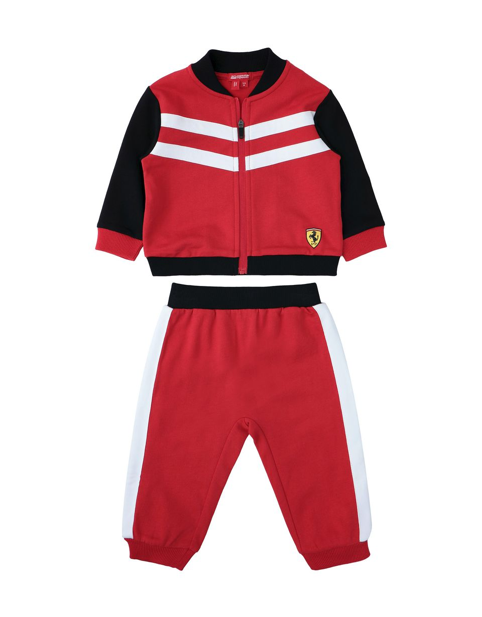 Scuderia Ferrari Online Store - Infant outfit with sweater and pants - Baby & Kids Sets
