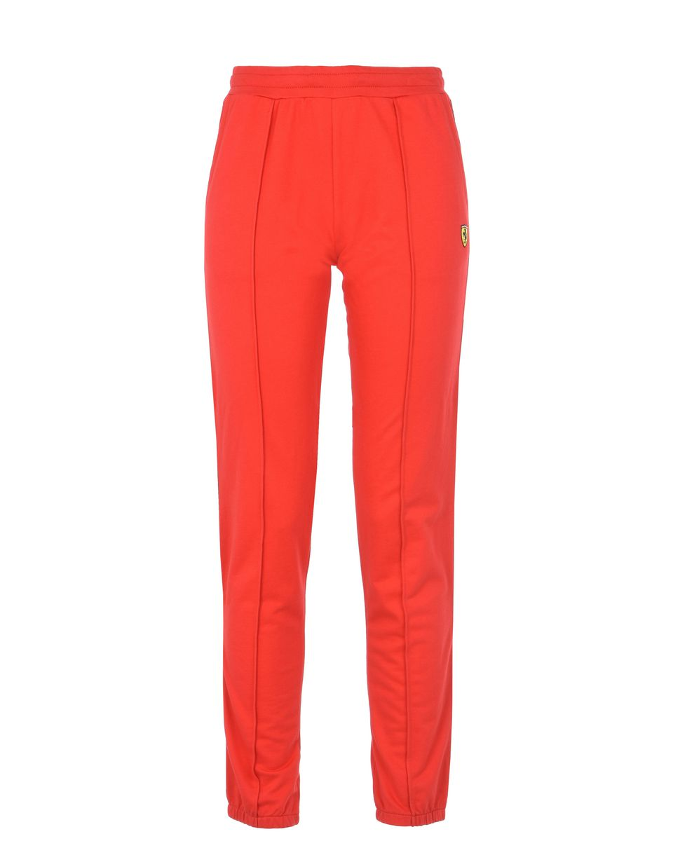 Scuderia Ferrari Online Store - Women's sweatpants with <i>Icon Tape</i> - Joggers