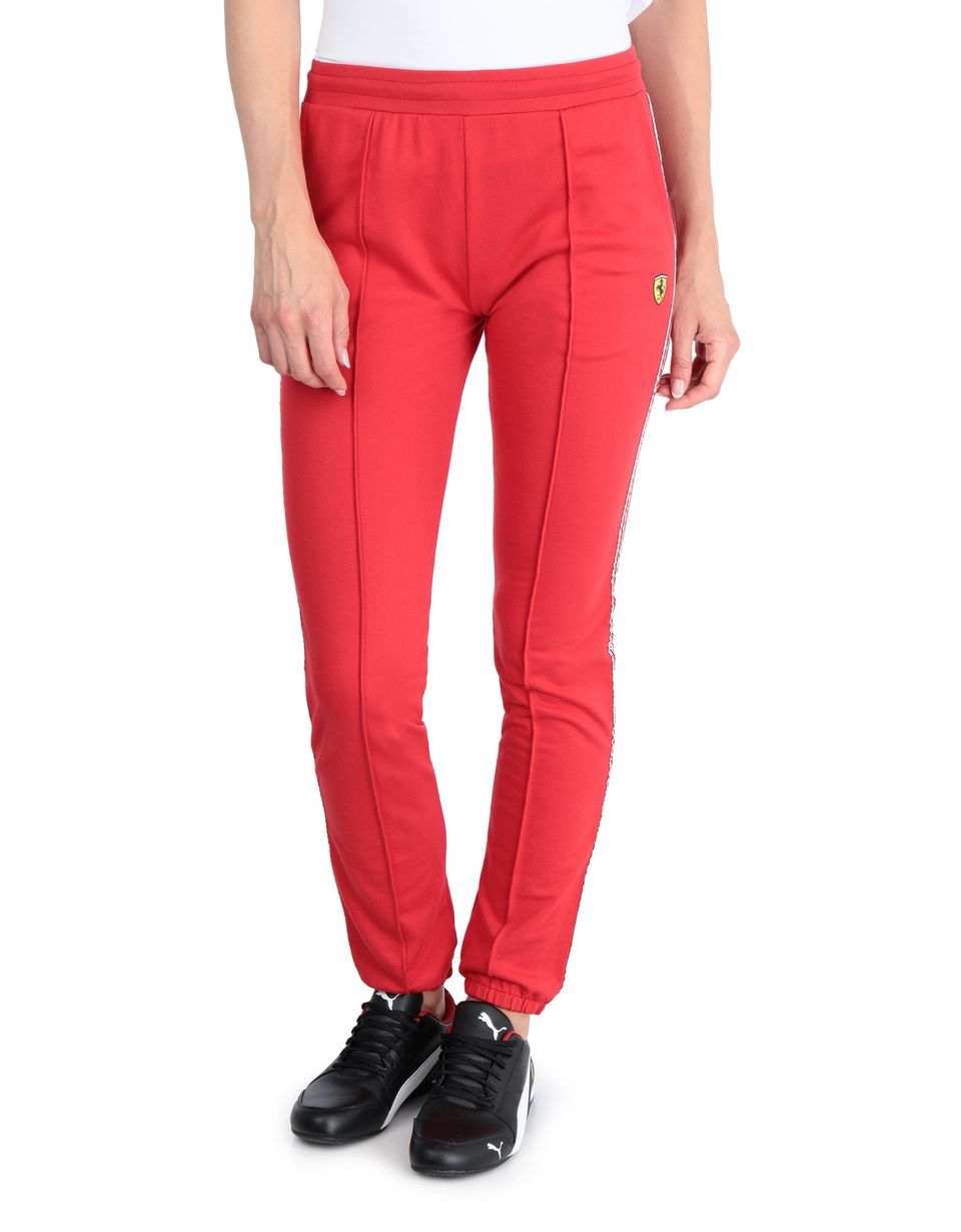 Scuderia Ferrari Online Store - Women's jogging trousers with <i>Icon Tape</i> - Joggers