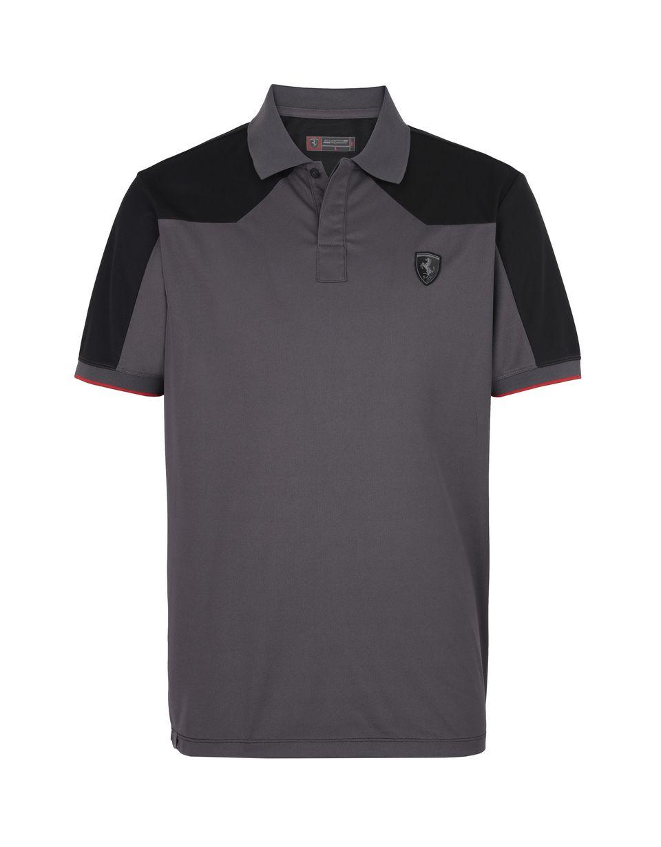 Scuderia Ferrari Online Store - メンズ半袖ポロシャツ 機能性コットンピケ - ポロシャツ