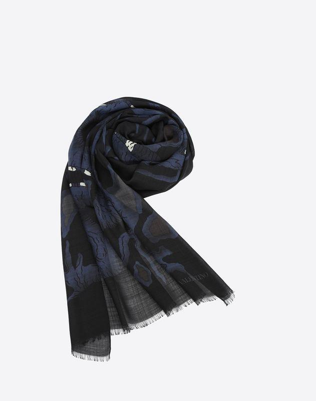 Valentino Dragon print scarf