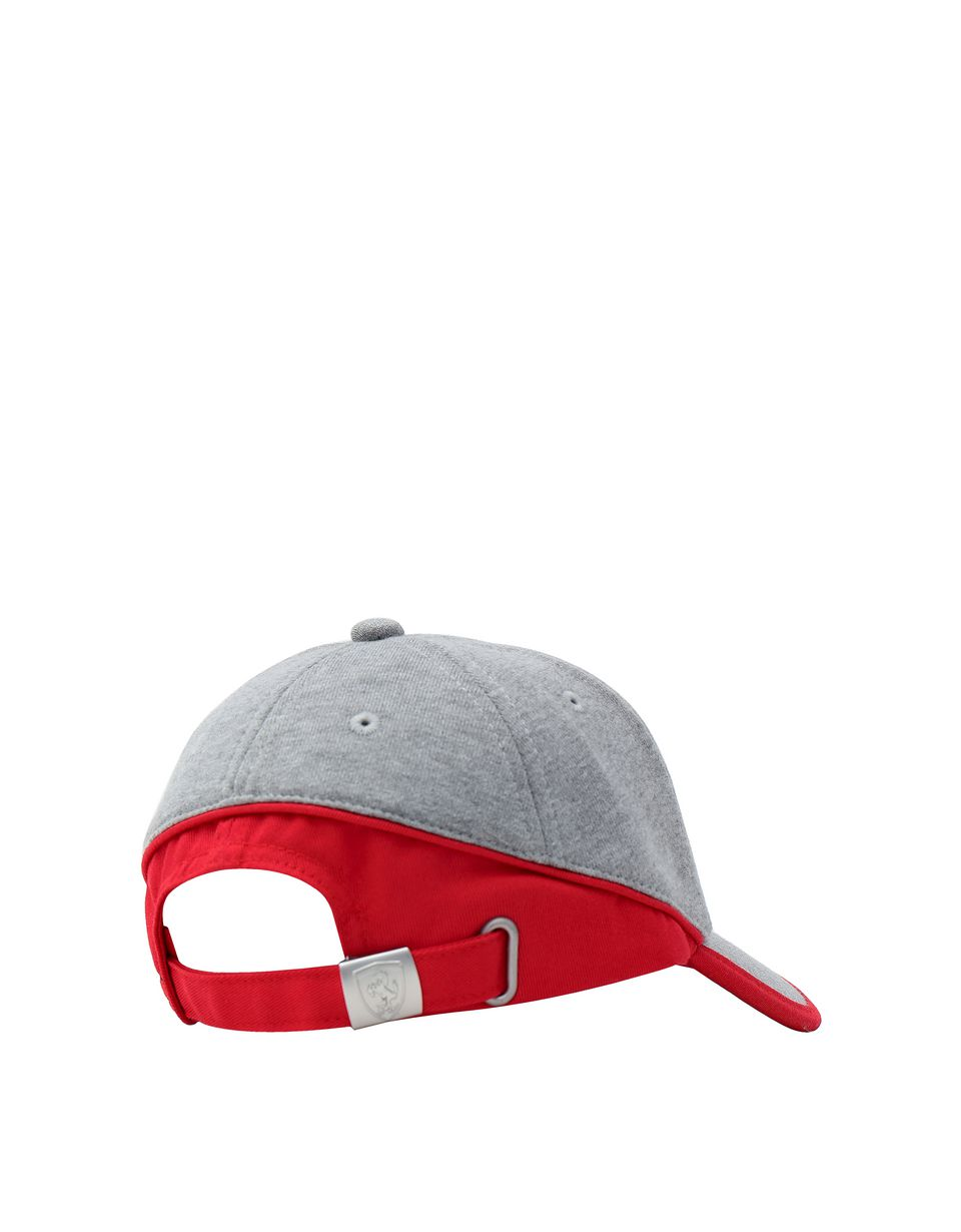 Scuderia Ferrari Online Store - Kids cap in jersey with a red trim -