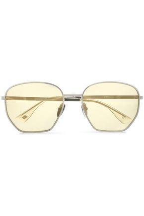 LE SPECS D-frame metal sunglasses
