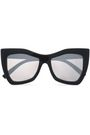 LE SPECS Square-frame acetate sunglasses