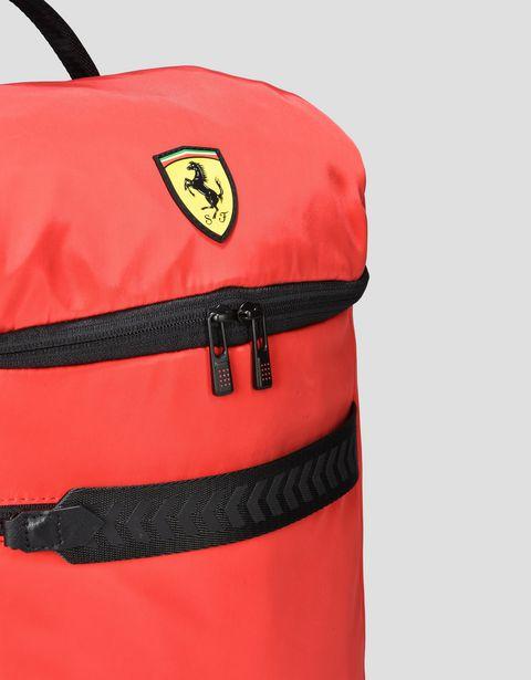 Scuderia Ferrari Online Store - 双色盾形徽标双肩包 - 通用双肩包