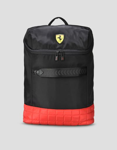 Two colour backpack with Shield