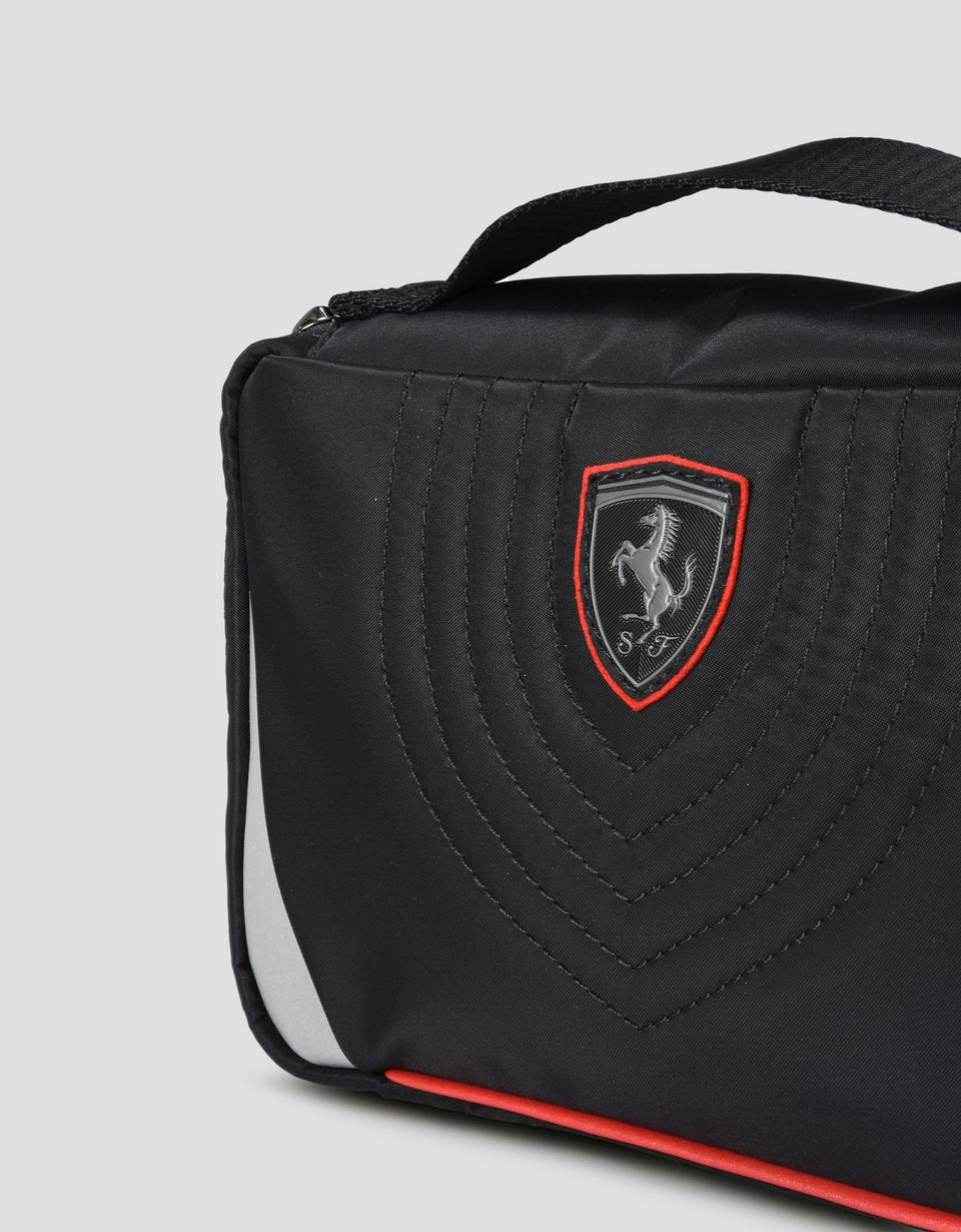 Scuderia Ferrari Online Store - Beauty case made from a technical fabric with embroidery -