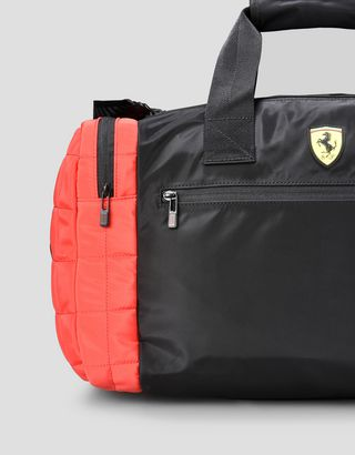 Scuderia Ferrari Online Store - Two colour travel bag with Shield - Duffle Bags