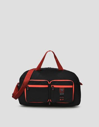 Scuderia Ferrari Online Store - Folding bag with contrasting details - Duffle Bags
