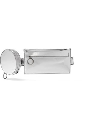 OFF-WHITE™ Mirrored-leather belt bag
