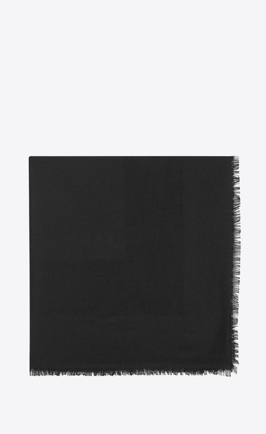 SAINT LAURENT Squared Scarves Woman saint laurent jacquard square scarf a_V4