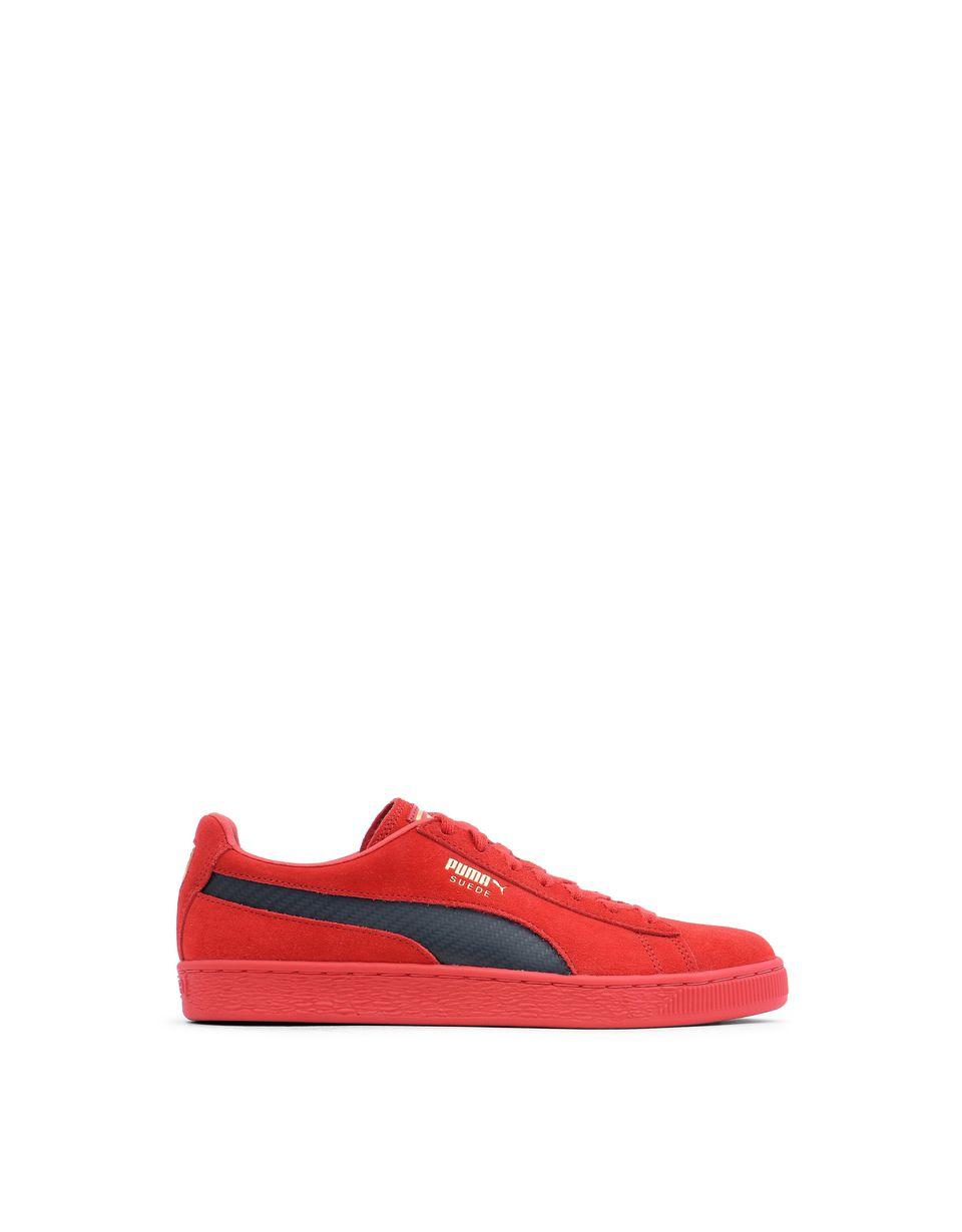 Scuderia Ferrari Online Store - 50th anniversary Scuderia Ferrari suede shoes - Sneakers
