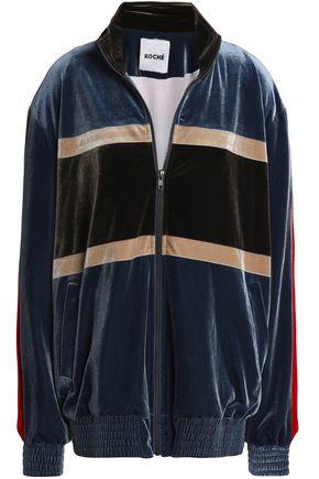 KOCHÉ Velvet bomber jacket