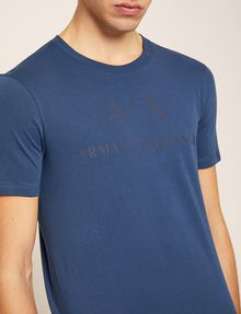 ARMANI EXCHANGE T-SHIRT GIROCOLLO CLASSICA CON LOGO T-shirt con logo [*** pickupInStoreShippingNotGuaranteed_info ***] b