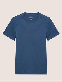 ARMANI EXCHANGE T-SHIRT GIROCOLLO CLASSICA CON LOGO T-shirt con logo [*** pickupInStoreShippingNotGuaranteed_info ***] r