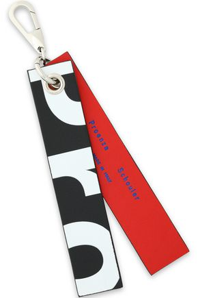 PROENZA SCHOULER Printed leather keychain