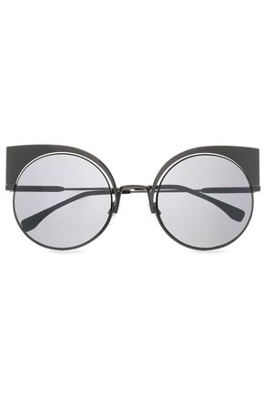FENDI Cat-eye acetate sunglasses