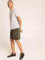 ARMANI EXCHANGE GEO CAMO BLOCKED SWEATSHORT Shorts Man d