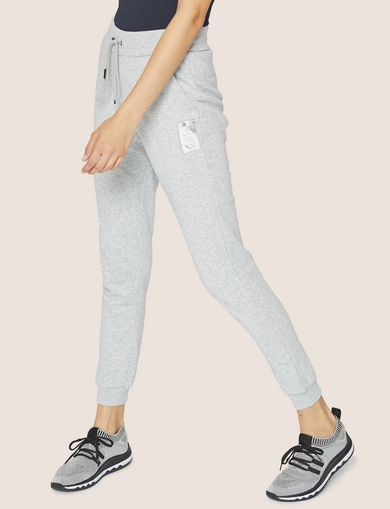 METALLIC EMBOSSED LOGO SWEATPANT