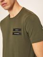 ARMANI EXCHANGE EQUAL SIGN SLIM LOGO TEE Logo T-shirt Man b