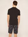 ARMANI EXCHANGE MIXED SCALE SHINE LOGO TEE Logo T-shirt Man e