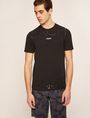 ARMANI EXCHANGE MIXED SCALE SHINE LOGO TEE Logo T-shirt Man f