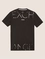ARMANI EXCHANGE MIXED SCALE SHINE LOGO TEE Logo T-shirt Man r