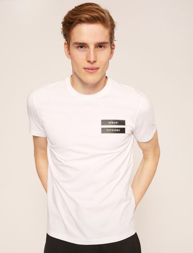 EQUAL SIGN SLIM LOGO TEE