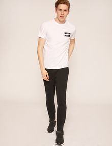 ARMANI EXCHANGE EQUAL SIGN SLIM LOGO TEE Logo T-shirt [*** pickupInStoreShippingNotGuaranteed_info ***] d