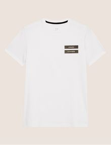 ARMANI EXCHANGE EQUAL SIGN SLIM LOGO TEE Logo T-shirt [*** pickupInStoreShippingNotGuaranteed_info ***] r
