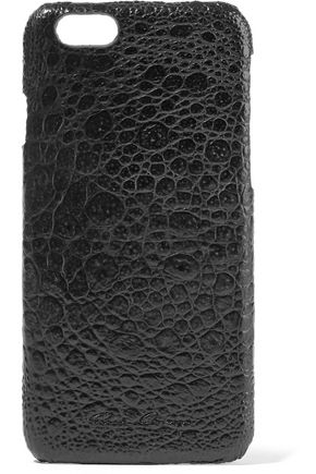 RICK OWENS Croc-effect acrylic iPhone 7 case