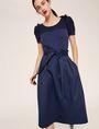 ARMANI EXCHANGE PAPERBAG WAIST PLEATED MIDI SKIRT Long Skirt Woman a