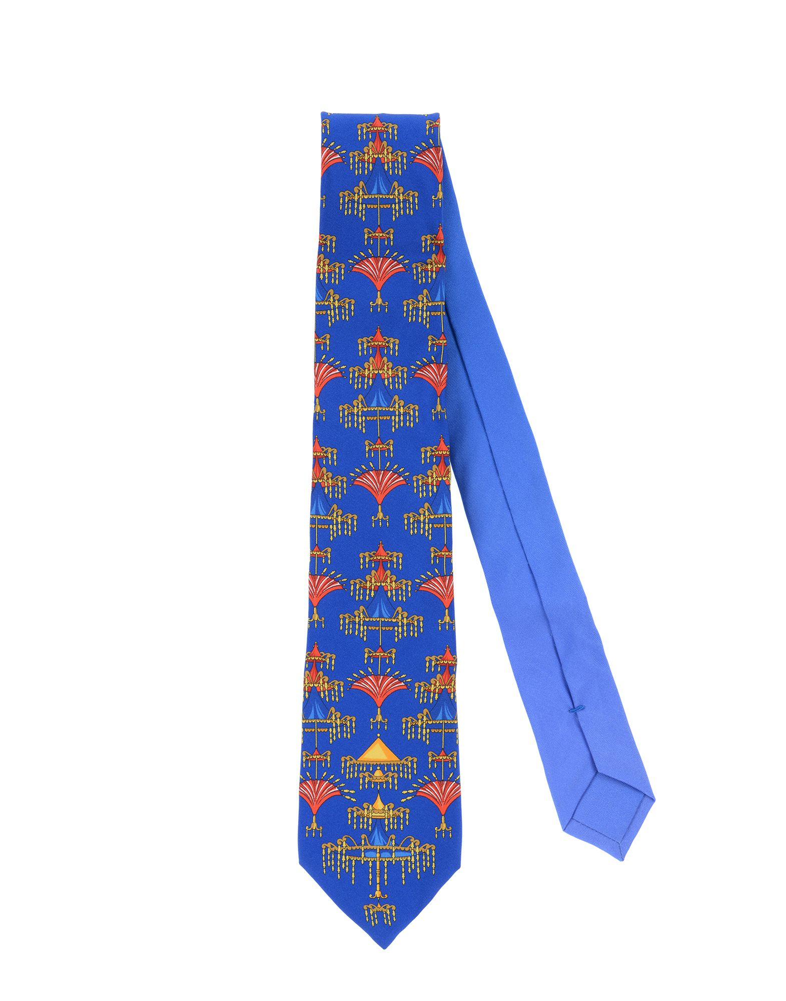VERSACE Галстук versace бордовый галстук в клетку внизу с логотипом versace 821752 page 5 page 3