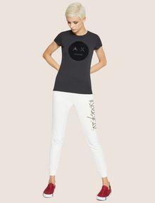 ARMANI EXCHANGE T-SHIRT AVEC LOGO EMOJI A|X T-shirt graphique [*** pickupInStoreShipping_info ***] d
