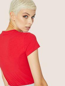 ARMANI EXCHANGE A|X EMOJI LOGO TEE Logo T-shirt Woman a