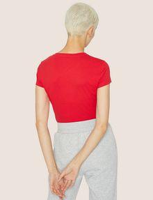 ARMANI EXCHANGE A|X EMOJI LOGO TEE Logo T-shirt Woman e