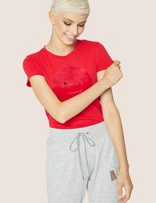 ARMANI EXCHANGE A|X EMOJI LOGO TEE Logo T-shirt Woman f