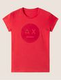 ARMANI EXCHANGE A|X EMOJI LOGO TEE Logo T-shirt Woman r
