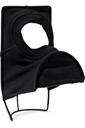 RICK OWENS Carny cutout cotton-fleece cap