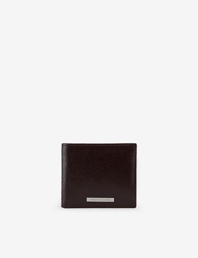 LOGO PLATE COIN POCKET WALLET