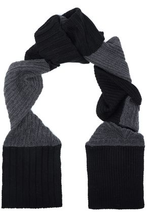 McQ Alexander McQueen Ribbed wool scarf