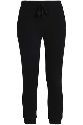 ROBERTO CAVALLI GYM French cotton-terry track pants