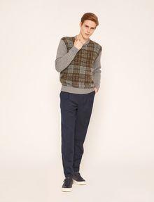 ARMANI EXCHANGE PLEAT-FRONT TROUSER PANT Dress Pant Man d
