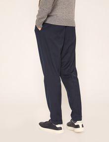 ARMANI EXCHANGE PLEAT-FRONT TROUSER PANT Dress Pant Man e