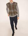 ARMANI EXCHANGE PLEAT-FRONT TROUSER PANT Dress Pant Man a